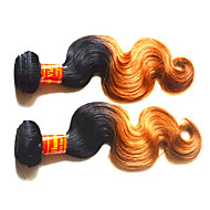 8A Malaysian Ombre Human Hair Body Wave 2Bundles 200Grams Lot Deals Color#1B/27 Suggest Order 2Lot 400Grams For one Head Malaysian Virgin Hair Weaves
