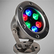1PCS 6W RGB IP68 Dc12V Underwater Light 720LM High Quality Outdoor Lighting