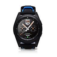 tanie Inteligentne zegarki-Inteligentny zegarek Ekran dotykowy Pulsometr Wodoszczelny Krokomierze Obsługa multimediów Śledzenie odległości Informacje Obsługa