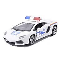 Muottivaletut ajoneuvot Taaksepäin vedettävät ajoneuvot Leluautot Ralliauto Poliisiauto Lelut Metalliseos Metalli Pieces Unisex Lahja