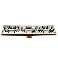 levne Starožitný bronz Series-Odtok Starožitný styl Mosaz 1 ks - Hotelová koupel