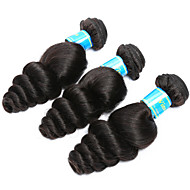 Vinsteen Vietnamese Virgin Hair Bundles 3Pcs/lot Loose Wave Human Hair Bundles Natural Black Color Human Hair Weave Virgin Hair Wefts