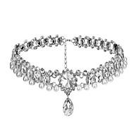 cheap Lolita Fashion Costumes-Classic Lolita Dress Necklace Sparkle & Shine Silver Lolita Accessories Necklace Artificial Gemstones