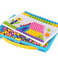 Técnicas Kit Faça Você Mesmo Brinquedo Educativo Jogo de Quebra-cabeças Kits de mosaico Brinquedos Circular Cogumelo Colorido Infantil 296