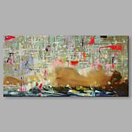 iarts®handgeschilderde eenvoudige zwarte dame olieverfschilderij met gestrekte frame voor huisdecoratie