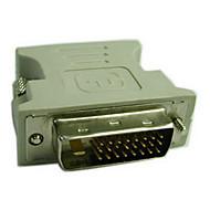 DVI Adaptador, DVI to VGA Adaptador Macho-Fêmea 720p Aço niquelado