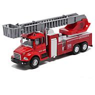 Fahrzeuge aus Druckguss Aufziehbare Fahrzeuge Spielzeugautos Feuerwehrauto Spielzeuge Anderen Metalllegierung Stücke Unisex Geschenk