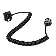 Meike MK-FA02 3M 10Ft 118 Inches TTL Off Camera MI Multi Interface Hot Shoe Flash Sync Cable Cord For Sony Speedlite Sony HVLF20M HVLF32M HVLF60M