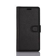 billiga Mobil cases & Skärmskydd-fodral Till LG K8 / LG / LG G4 Plånbok / Korthållare / med stativ Fodral Enfärgad Hårt PU läder för LG X Screen / LG X Power / LG V20 / LG G6 / LG K10