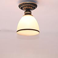 billige Takbelysning og vifter-Takplafond Omgivelseslys - Mini Stil, Antikk Retro Rød, 110-120V 220-240V Pære ikke Inkludert