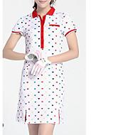 Damen Kurzarm Golf Kleider Golfspiel