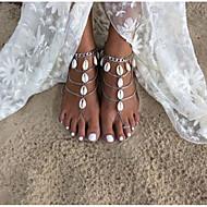 נשים תכשיט לקרסול/צמידים סגסוגת אופנתי עבודת יד תכשיטים טיפה תכשיטים עבור יומי קזו'אל