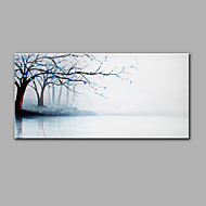 billige -Hånd-malede Landskab Horisontal,Moderne Et Panel Hang-Painted Oliemaleri For Hjem Dekoration