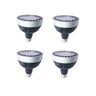 billige Spotlys med LED-4stk 30 W 2000 lm E26 / E27 LED perler SMD 3030 Varm hvit / Hvit 220-240 V / 4 stk.