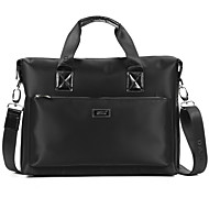 Men Bags Oxford Cloth Briefcase Smooth for Business Casual Formal School Date Work Office & Career All Seasons Black