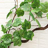 240cm High Simulation Grape Leaf Artificial Flowers Home Decoration 2pcs