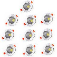 billige Innfelte LED-lys-Varm hvit Kjølig hvit Dekorations Lys