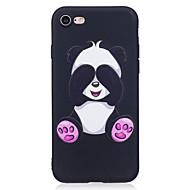 Θήκη Za Apple iPhone X iPhone 8 Uzorak Stražnja maska Panda Životinja Mekano TPU za iPhone X iPhone 8 Plus iPhone 8 iPhone 7 Plus iPhone