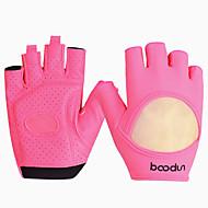 BOODUN/SIDEBIKE® Luvas Esportivas Luvas de Ciclismo Vestível Respirável Anti-desgaste Protecção Sem Dedo Náilon Fitness Mulheres