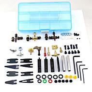 タトゥーアクセサリーポータブル1セットタトゥー修理キットマシンガンタトゥー用品ツール
