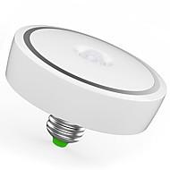 billige -12W E26/E27 Smart LED-lampe T120 24 leds SMD 5730 Infrarød sensor Menneskekroppssensor Lysstyring Varm hvit Kjølig hvit 1100lm 3200/6500