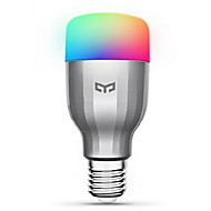 cheap Lighting Sale-Xiaomi 1 pc 9W 600 lm E26/E27 LED Smart Bulbs 19 leds SMD Warm White Cold White RGB AC 220-240V