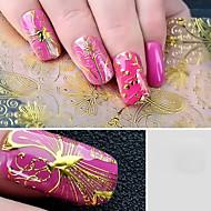ieftine vârful unghiilor & Afisaj-nail art Jumătăți de Vârfuri de Unghii Clasic Calitate superioară Zilnic