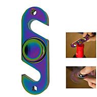 Regenbogen Hand Spinner Spielzeug mit Flaschenöffner Kreisel Stress Relief Spitze Spielzeug sparsam