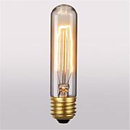 baratos Incandescente-1pç 60 W E26 / E27 T10 Branco Quente 2300 k Retro / Decorativa Incandescente Vintage Edison Light Bulb 220-240 V / 110-130 V