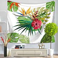 billige Veggdekor-Blomster Tema Veggdekor 100% Polyester Parfymert Veggkunst, Veggtepper Dekorasjon