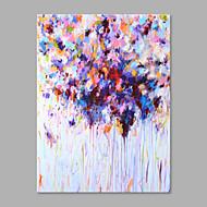 Kézzel festett Absztrakt Absztrakt Egy elem Vászon Hang festett olajfestmény For lakberendezési