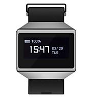 tanie Inteligentne zegarki-Inteligentne Bransoletka Ekran dotykowy Pulsometr Wodoszczelny Spalone kalorie Krokomierze Rejestr ćwiczeń Śledzenie odległości Długi