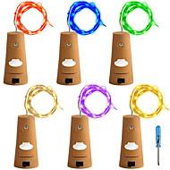 8W Verlichtingsslingers 600 lm <5V V 12 m 120 leds Warm Wit Wit Rood Geel Blauw Groen Paars Roze Meerkleurig