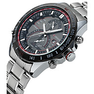CURREN Homens Relógio Esportivo Relógio de Moda Relógio de Pulso Único Criativo relógio Relógio Casual Quartzo Calendário Aço Inoxidável