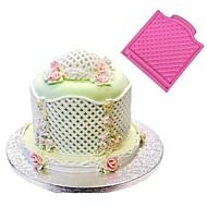 billige Bakeredskap-Bakeware verktøy Silikon Gummi / Silikon Non-Stick / baking Tool / Bursdag Til Småkake / Sjokolade / For kjøkkenutstyr Cake Moulds