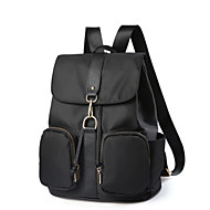 Women Bags All Seasons Oxford Cloth Backpack for Casual Traveling Black