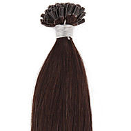 22inch 1g/s Pre Bonded U Nail Tip Keratin Remy Human Hair Extensions Straight 50s