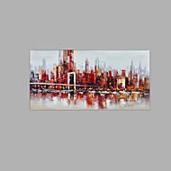 halpa -Maalattu Asetelma Luonnon inspiroima 1 paneeli Kanvas Hang-Painted öljymaalaus For Kodinsisustus