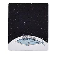 מתגעגע כוכב קטן לווייתן אמנות טריים איור עכבר רפדה בד גומי טבעי 20 * 23.8