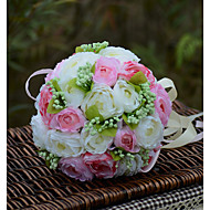 """cheap Wedding Flowers-Wedding Flowers Bouquets Wedding Organza Satin 11.02""""(Approx.28cm)"""