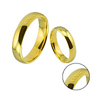 Atmospheric fashion lovers ring wedding ring net surface smooth circular ring spherical ring ring hot men and women