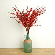 billige Kunstig Blomst-Kunstige blomster 10 Europæisk Stil Planter Bordblomst / Ikke Inkluderet