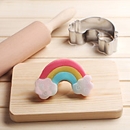 Rainbow Cloud Cookies Cutter Stainless Steel Biscuit Cake Mold Metal Kitchen Fondant Baking Tools