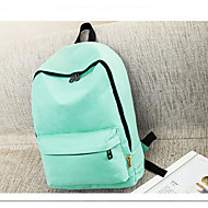 Men Bags All Seasons Canvas Backpack for Casual Green Black Sky Blue