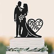 Figurky na svatební dort Vysoká kvalita Svatební Narozeniny Svatba Narozeniny Taška z PVC