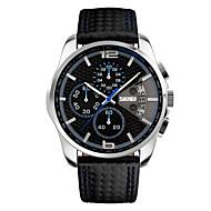 billige Kjoleur-Herre Quartz Digital Digital Watch Armbåndsur Smartur Militærur Skeletur Sportsur Kinesisk Alarm Kalender Kronograf Vandafvisende Stor