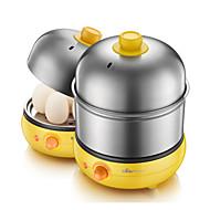eggkokt dampet egg vaniljesaus multi-funksjon dobbel decker kokt egg oransje gul maskin