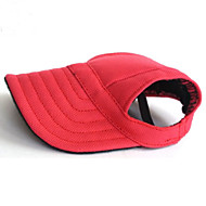 cheap Dog Clothing & Accessories-Cat Dog Bandanas & Hats Dog Clothes Solid Colored Black Red Blue Nylon Costume For Pets Men's Women's Holiday