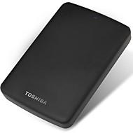 東芝1tb 2.5インチusb3.0プラスチックブラックインジケータライトマットテクスチャ外付けハードドライブ
