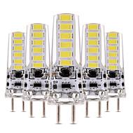 billiga Belysning-YWXLIGHT® 5pcs 4W 300-400lm LED-lampor med G-sockel T 12 LED-pärlor SMD 5730 Bimbar Dekorativ Varmvit Kallvit 12V 12-24V